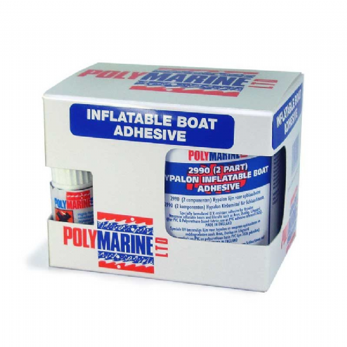 Hypalon Inflatable Boat Glue (2990) 2 Part Adhesive - 250ml Tin & 10ml cure